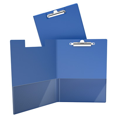 Davis Group 4711 Essential Clipboard, Blue, Letter Size  CLEAR INTERIOR POCKETS COMMERCIAL GRADE QUALITY