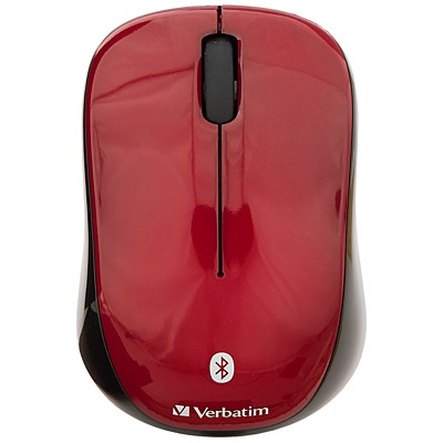 Verbatim Wireless Tablet Multi-Trac Blue LED Mouse - mouse - Bluetooth - garnet MULTI-TRAC LED RED