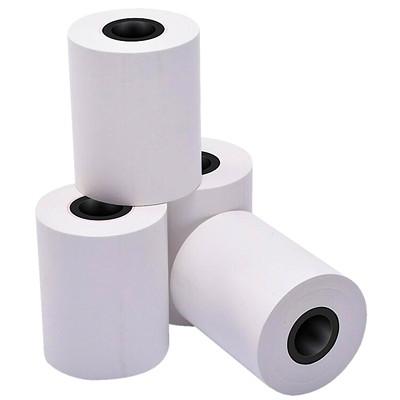 "McDermid Phenol- and BPA-Free Thermal Paper Rolls, Debit/Credit, White, 2 1/4"" x 60', 50/CT 50/CRT"