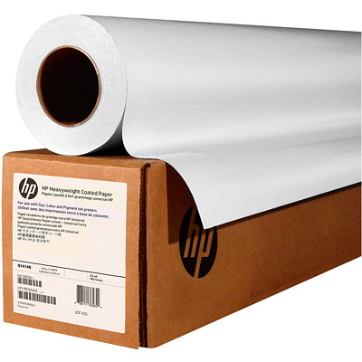 HP HEAVYWEIGHT COATED PAPER 172 MICRONS (6.8 MIL) 42 IN X 100 FT