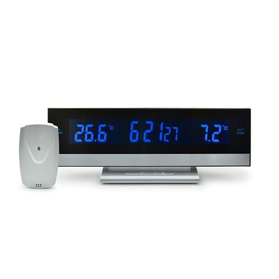 Thermomètre numérique intérieur/extérieur avec alarme BIOS Living -30°C TO 60°C/-22°F TO 140°F ALARME AVEC FONCTION SNOOZE