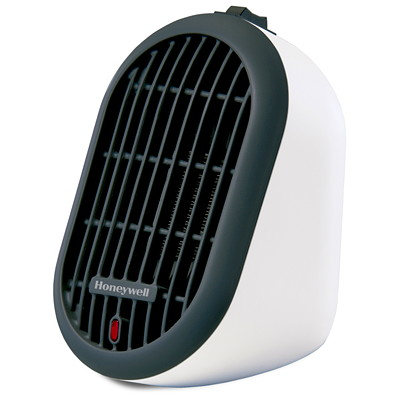 Honeywell HeatBud Personal Ceramic Heater, White PERSONAL HEAT BUD - WHITE INTENDED FOR SMALL SPACES