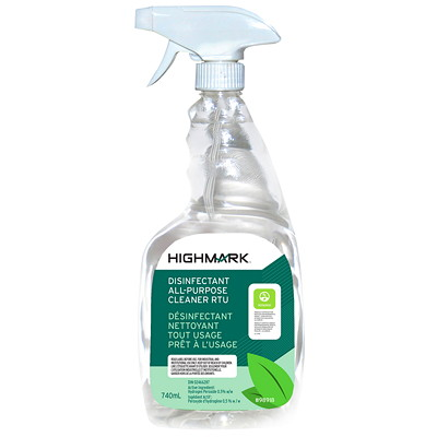 Highmark All Purpose Disinfectant Cleaner, Ready-to-Use Spray, 740 mL  740ML SPRAY READY TO USE