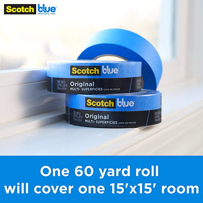 "ScotchBlue 2090 Original Multi-Surface Painter's Tape, 36 mm x 54.86 m  2090- 1  1/2"" X 60 YARDS"