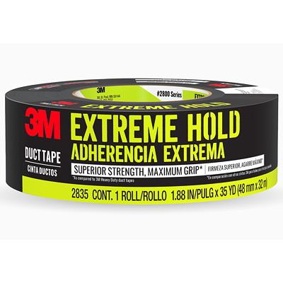 "3M Extreme Hold Duct Tape, Black, 48 mm x 18.3 m  1.88"" X 20' (48 0 MM X 18 3 M)"
