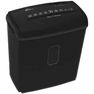 Royal Sovereign Personal Shredder, Cross-Cut, 8-Sheet Capacity, P-4 Security Level (RDS-15C8) 8 SHEET CROSS CUT BLACK