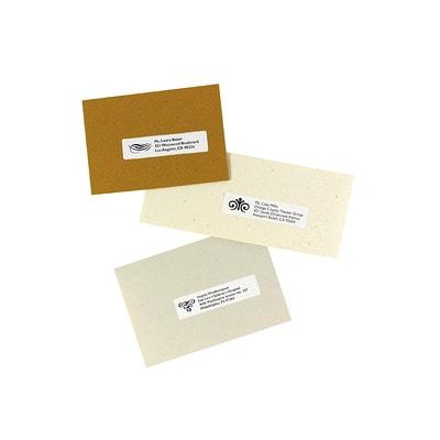 """Avery 8161 Easy Peel Address Labels, White, 1"""" x 4"""", 20 Labels/Sheet, 25 Sheets/PK WHITE 500/PK 20 LABELS PER SHT"""