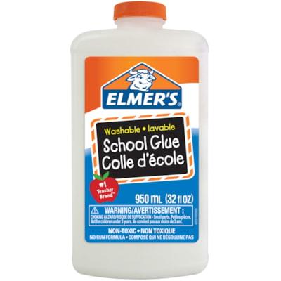 Elmer's Washable School Glue, White, 950 mL