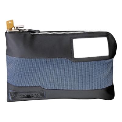 "Master Lock Locking Storage Bag BLUE  11-1/2""W X 8-3/8""H X 1-3/8""D"