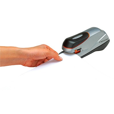 Swingline Optima Grip Electric Half-Strip Stapler, Silver, 20 Sheet Capacity 20 SHT CAPACITY  SILVER/BLACK USES 35556 STAPLES