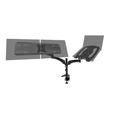"""DAC Flex Dual-Monitor Arm MONITORS UP TO 27""""  VESA MIS-D TENSION SPRING FOR POSITIONING"""