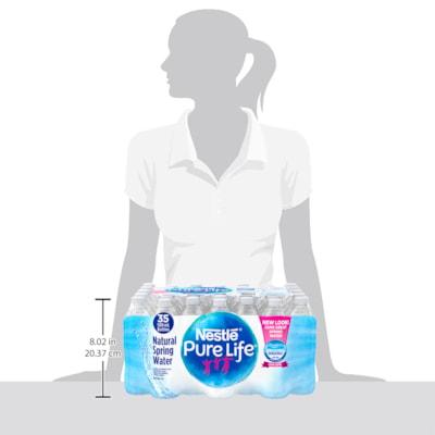 Nestle Pure Life Bottled Natural Spring Water, 500 mL, 35/CS BOTTLED WATER