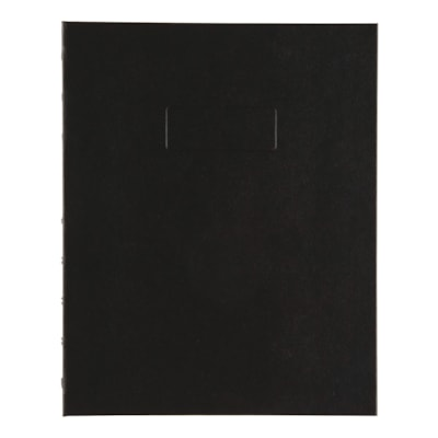 """Blueline NotePro Coiled Notebook, 192 Pages, Black, 9 1/4"""" x 7 1/4"""" 7-1/4 REINFORCED HINGE RULED W/MARGIN 192PAGE"""
