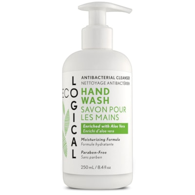 EcoLogical Anti-Bacterial Liquid Soap, Fresh Scent, 250 mL FRESH SCENT