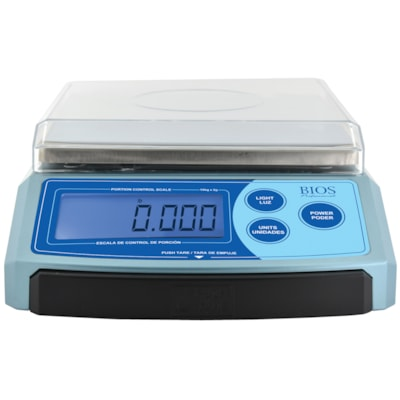 BIOS Living High-Precision Digital Portion Scale 7 WEIGHING MODES PLATFORM SIZE: 7  X 7