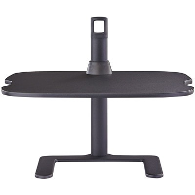 """Safco Height-Adjustable Laptop Stand, 27""""W x 18""""D x 21 1/2""""H, Black HEIGHT ADJUSTABLE BLACK"""