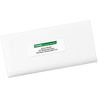 "Avery 5962 Easy Peel Address Labels, White, 1 1/3"" x 4"", 14 Labels/Sheet, 250 Sheets/BX 4 X 1 1/3  PERM.ADHESIVE BOX/3500 AVERY 14LB/SHT"