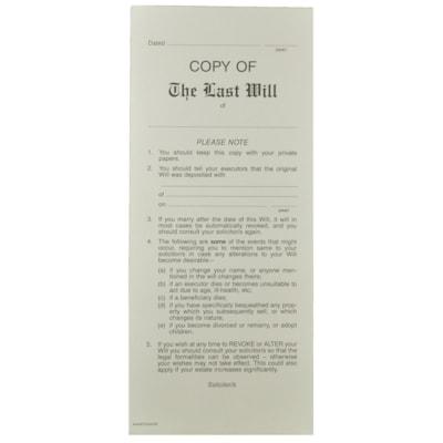 Mark Maker Copy of Will Envelopes PK of 100 MAG-E65