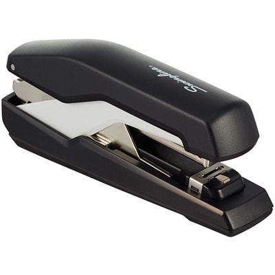 Swingline Supreme Omnipress SO30 Low-Force Stapler, Black/Grey
