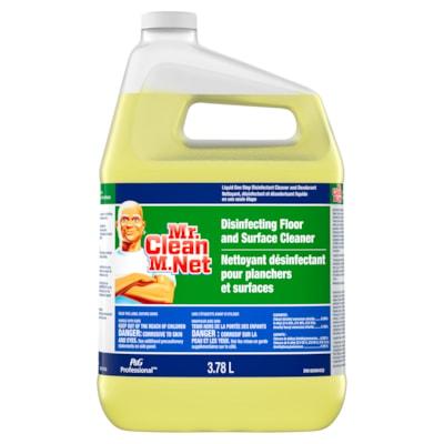 Nettoyant désinfectant professionnel pour planchers et surfaces M. Net, 3,78 l 3 78 L