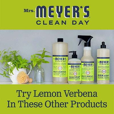 Mrs. Meyer's Multi-Surface Everyday Cleaner, Lemon Verbena Scent, 473 mL LEMON VERBENA 473ML