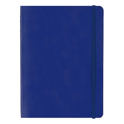 "Carnet Edge 8 1/4 po x 5 13/16 po Bleu Letts 192 RULED PAGES  CREAM PAPER 8 1/4"" X 5 13/16"""