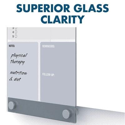 "Quartet Infinity Customizable Glass Dry-Erase Board, 11"" x 17"" INFINITY  QUARTET"
