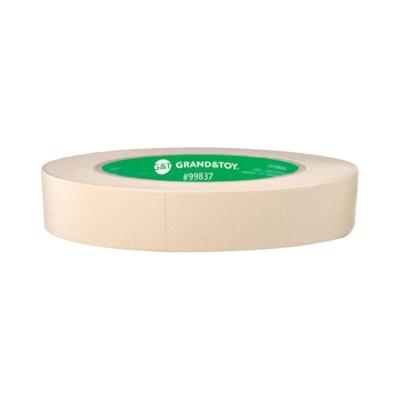 Grand & Toy General Purpose Masking Tape, 18 mm x 55 mm, 3 Rolls/PK PACK OF 3 GENERAL PURPOSE