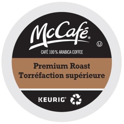 McCafé Premium Coffee K-Cup Pods, Medium Dark Roast, 24/BX 24/BOX