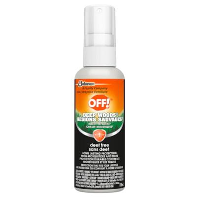 OFF! Deep Woods Deet-Free Insect Repellent, Pump Spray, 118 mL DEEP WOODS