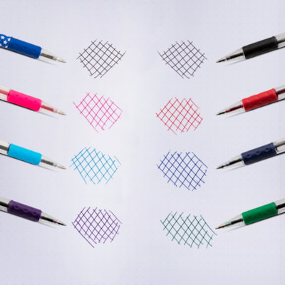 Pentel R.S.V.P. Ballpoint Stick Pens, Blue, Fine 0.7 mm USES BKL7-C REFILL  R.S.V.P. W/COMFORT GRIP REPLC BPSGPF-BE