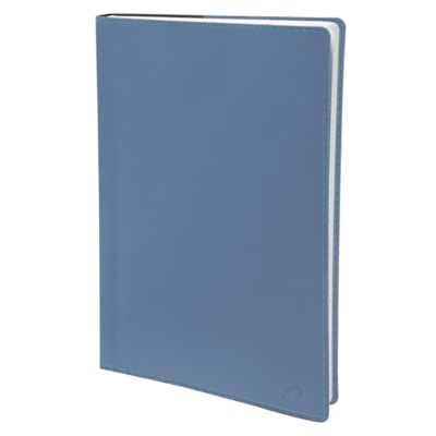 """Quo Vadis 13-Month Weekly Trinote Toscana Planner, Blue, 7 1/4"""" x 9 1/2"""", December-December, English TOSCANA COVER STATE BLUE"""