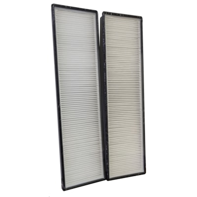 Ecohouzng True HEPA Compound Filter Replacements, Pack of 2