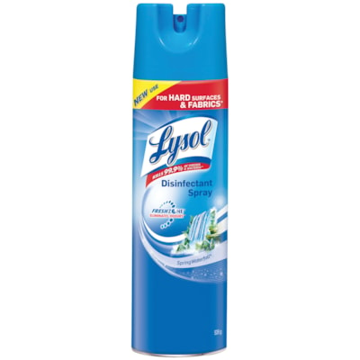 Lysol Disinfectant Aerosol Spray, Spring Waterfall Scent, 539 g SPRING WATERFALL
