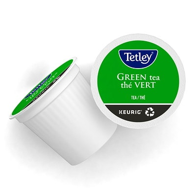 Tetley Tea Single-Serve K-Cup Pods, Green Tea, Box of 24 24/BX  KEURIG