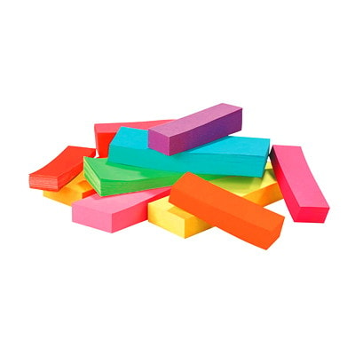 """Post-it Page Markers, Assorted Ultra Bright Colours, 1/2"""" x 2"""", 50 Sheets/Pad, 5 Pads/PK ASST ULTRA COLOURS 50 SHEETS/PAD"""
