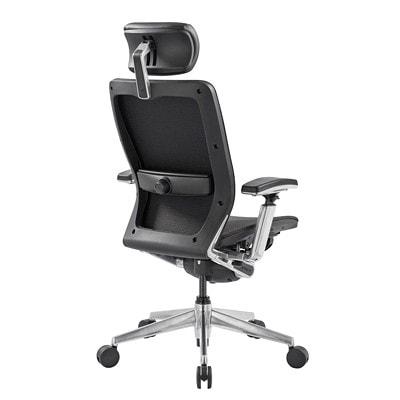 Nightingale IC2 HB Task Chair with Headrest BLACK