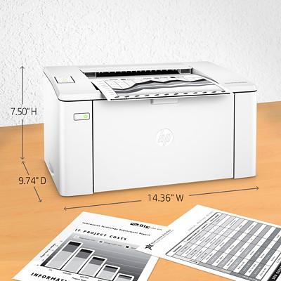 HP LaserJet Pro M102W Printer (G3Q35A) BLACK & WHITE