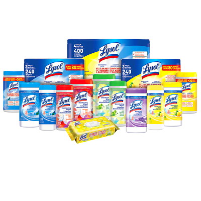 Lysol Disinfecting Wipes, Spring Waterfall Scent, 110/PK SPRING WATERFALL SCENT