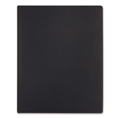 """Quo Vadis 13-Month Weekly President Refillable Planner, 8 1/4"""" x 10 3/4"""", Black, December 2020 - December 2021, English PRESIDENT  TOSCANA COVER  BLK"""