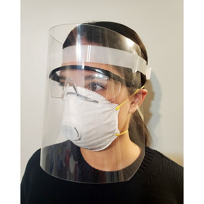Sterling Face Shields, Clear, 2/PK