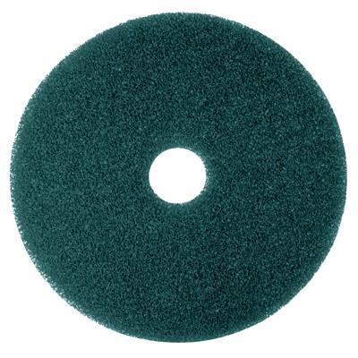 "3M 5300 Floor Cleaner Pads, Blue, 17"", 5/CT"