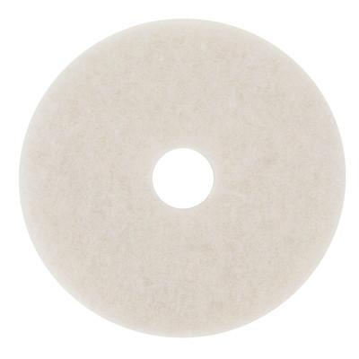 "3M 4100 Super Polish Pad, White, 20"", 5/CT 3M 4100 5/CT"