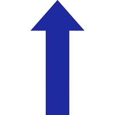 "Sterling Die-Cut Arrow Floor Decal, Blue, 8"" x 18""  QTY1-9"