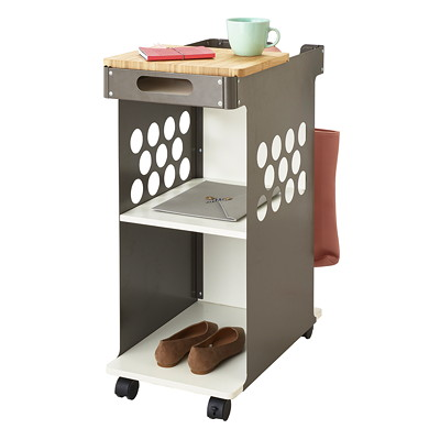 Safco Mini Rolling Storage Cart  FOR STANDING DESK