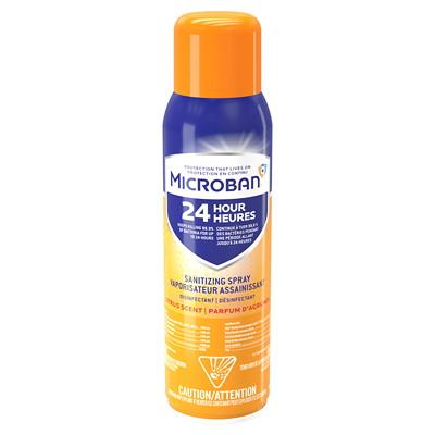 Désinfectant et assainisseur en vaporisateur Microban 24 heures, parfum d'agrumes, 425 g 425G