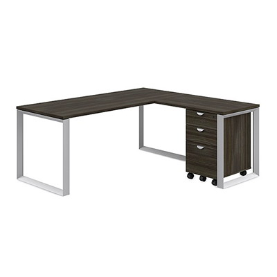 """HDL Innovations Mobile File Pedestal, 3-Drawer, Winter Wood, 16"""" x 19"""" x 27 1/2"""" WINTER WOOD H/D LOCK CASTERS 16''W X 19''D X 27.5''H"""