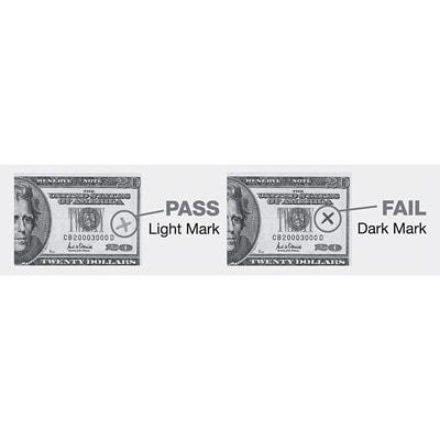 Dri-Mark American Money Counterfeit Detector Pens, For American Bills, 3/PK SPECIAL PATENTED FORMULA DETECTS BAD BILLS