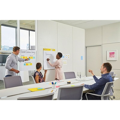 Post-it Super Sticky Self-Stick Easel Pad 25 IN X 30 IN  WHITE