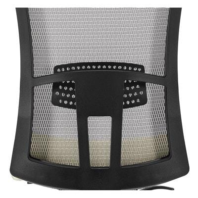 Global Vion Mid-Back Multi-Tilter Chair, Candy Apple Red Imprint Fabric Seat/Black Mesh Back IMPRINT GR 4 CANDY APPLE IM74